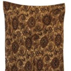 Michael Kors Brown Paisley Silk Skirt Size 2  NWT